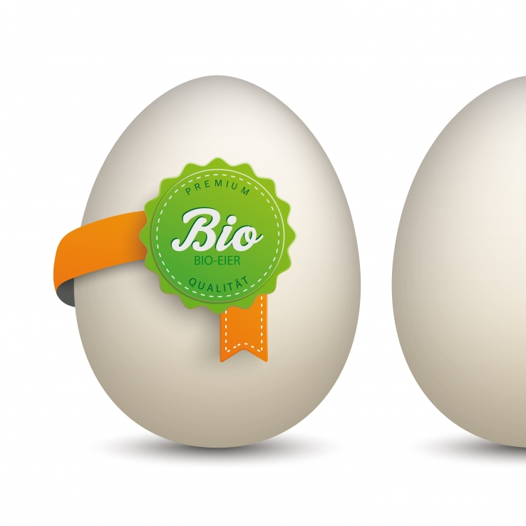 Verse Bio-Eieren